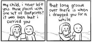 Footprints in the sand…