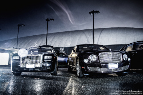 Rolls-Royce Phantom & Bentley Mulsanne  Image by Marcel Lech