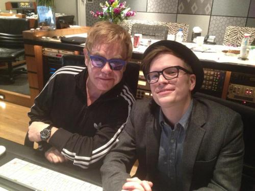 Please tell me Elton John is going to be on the new Fall Out Boy album. (via Twitter / PatrickStump: #saverockandroll #sireltonjohn)
