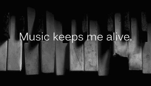 morella-aka-eyes:  Music is the only way. ♥