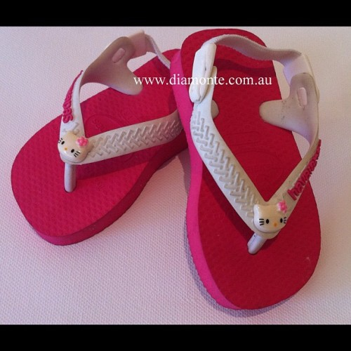 Baby Havaianas Featuring Hello Kitty, visit us on facebook.com/Mydiamonte and diamonte.com.au