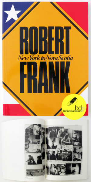 "Now available at bdp: ""New York to Nova Scotia"" by Robert Frankhttp://store.bookdummypress.com/product/new-york-to-nova-scotia-by-robert-frank Needless to say, this book is a beautiful chronology and personal spirit of Frank's complex career as a photographer and filmmaker published by Steidl."