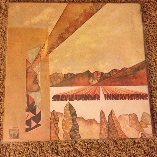 Exhibit C: Stevie Wonder - Innervisions, so glad I found this album today. Wasnt apart of the Record Store Day releases but I had to get it.