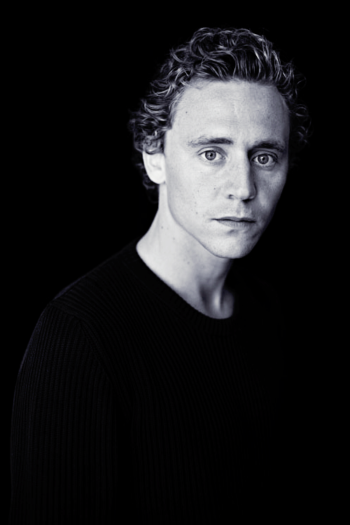 Tom Hiddleston portrait by Hugo Glendinning