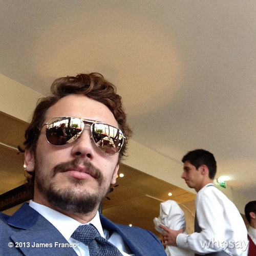 Cannes!!!!View more James Franco on WhoSay