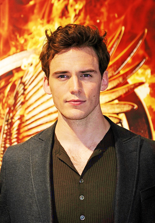 Sam Claflin at the 'The Hunger Games: Catching Fire' Cannes Photocall (May 18)