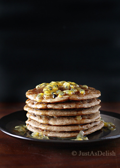 Buckwheat Oat Pancakes by Just As Delish
