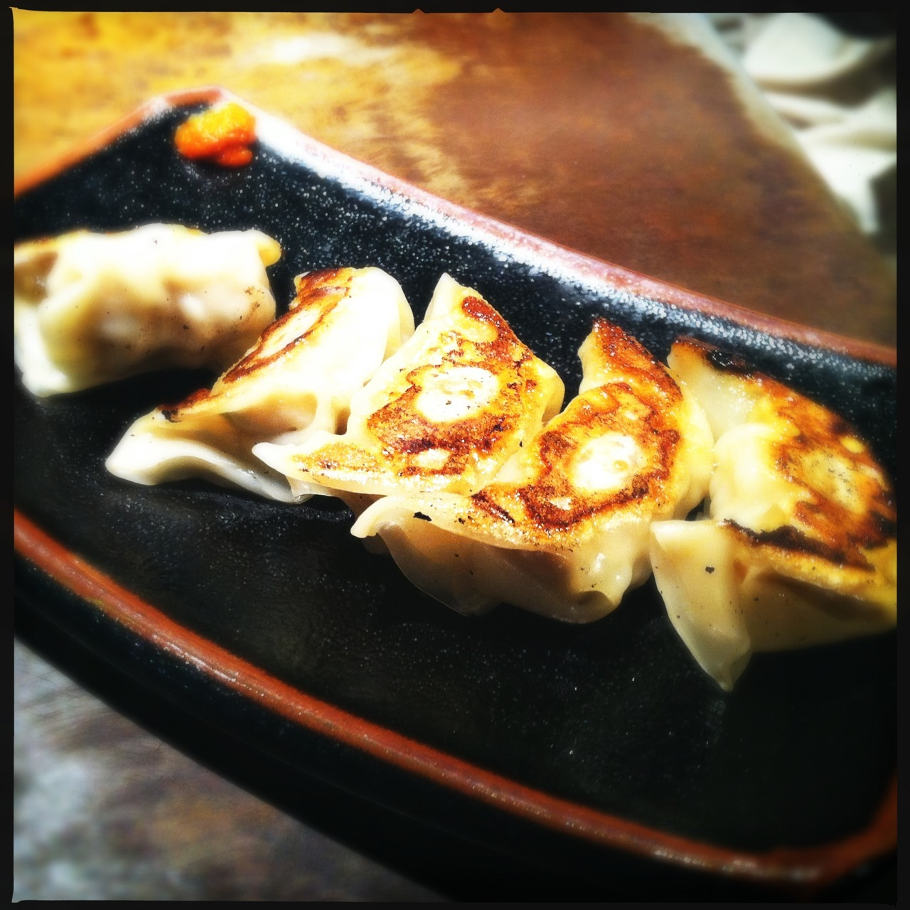 Gyōza at Ippudo, Yokohama