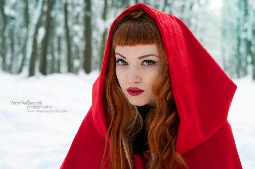 """Little Red Riding Hood"" Miss Bo by Veronika Šantoši"