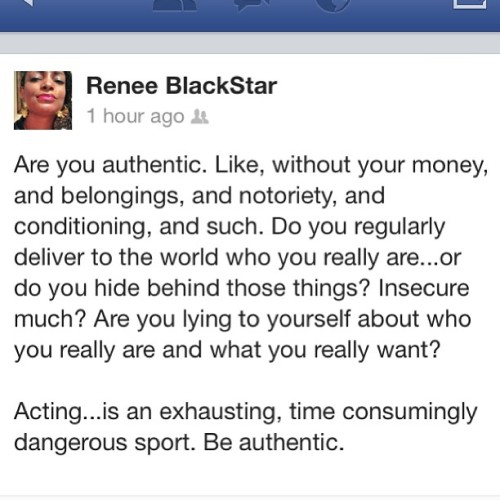 @r_blackstar always keeps it 💯 . One of the many reasons I love her.  Totally needed a repost today. #authentic #real #life #silly #acting