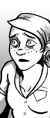 This was my face while drawing Friday's update… ALSO! There is a new SFP store with t shirts in all sizes and also minicomics , get em while they're hot!