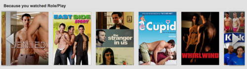 Paul and I share a Netflix account…