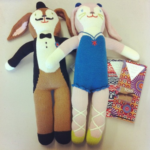 Easter treat idea: Blabla Bunnie knit dolls and chocolates! In-store and online(bunnies only) (at Poketo)
