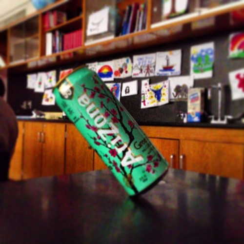 Defying physics much? #physics #arizona #greentea  #tea #balance
