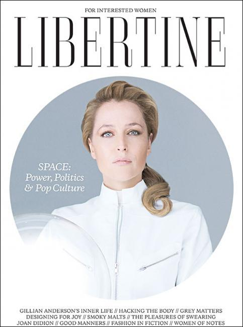 "coketalk:  coverjunkie:  Libertine (UK) There's a new mag in town. Libertine Magazine: ""For Interested Women"" Founder and editor Debbi Evans explains: ""to redefine the 'women's interest' category. In addition to luxury lifestyle content we cover tech, science and business, and celebrate high achieving maverick women for the contents of their brains, not their beds. There is no fashion or beauty content in issue 1, unless you count a piece on the semiotics of handbags. There's nothing like it, and we're really excited (and relieved!) to have finally got it out there.""  I love everything about this."