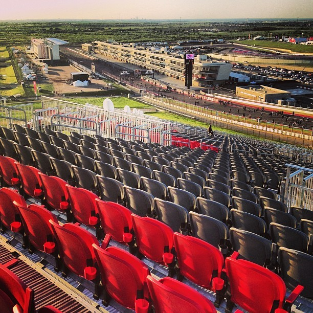 #bleachers #circuitoftheamericas #motorcycles #motogp #atx #austin  (at Circuit of the Americas)