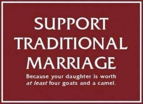 Support Traditional Marriagehttp://proud-atheist.tumblr.com