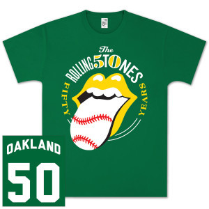 The Rolling Stones 50 & Counting tour is hitting the San Francisco Bay Area TOMORROW, at Oakland's Oracle Arena. Check out some of the latest merch here: http://rollingstones.shop.bravadousa.com/content/mlp/191/default.html