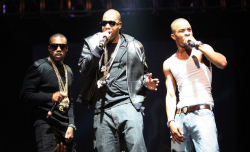 Jay-Z, Kanye West, and T.I.
