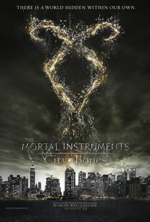 tmicanada:  All the City of Bones posters (so far).