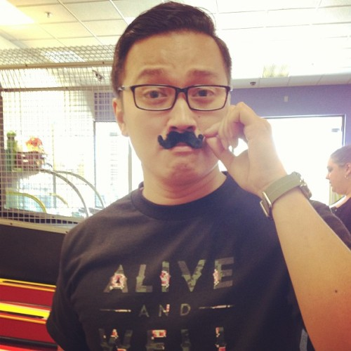 Thanks Chucke E. Cheese for giving me facial hair….finally! #aliveandwell (at Chuck E. Cheese's)