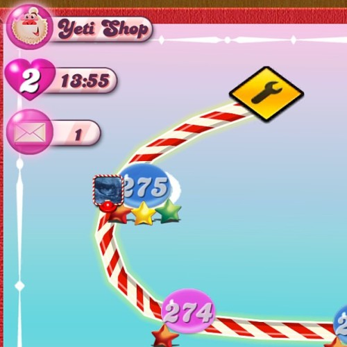 That awkward moment when you complete all #275 levels of #CandyCrush