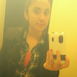 My favorite shirt. Blue flannel c: