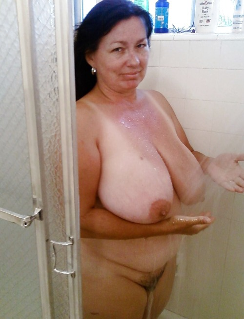 Mature granny nudist