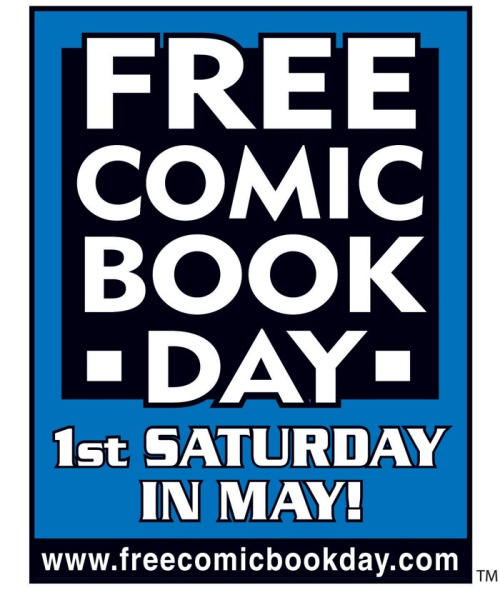 comicbooktherapy:  Free Comic Book Day 2013  What is Free Comic Book Day?Free Comic Book Day is a single day – the first Saturday in May each…  View Post  SO EXCITED!!!! Everyone should participate! It's free!
