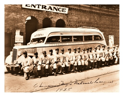 1935 Pittsburgh Crawfords Team