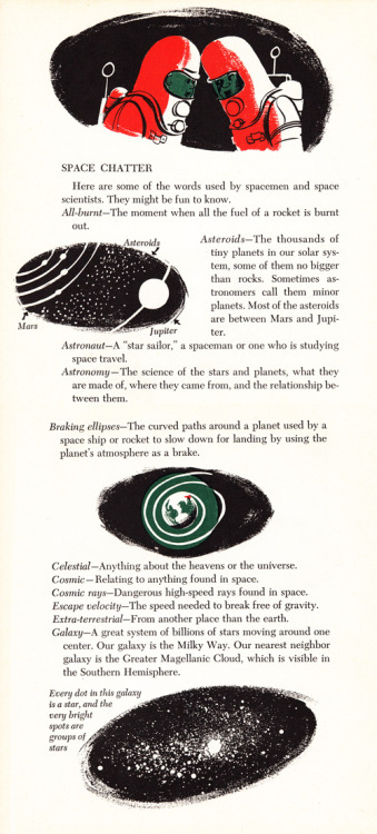 Astronaut lingo: Cosmic vocabulary circa 1953