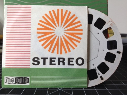 lomographicsociety:  The Meopta Stereo 35 aka The View-Master Camera In my junior year of college, I had a crazy idea for a project for my directed study class. I wanted to create my own view-master reels, and to my surprise a view-master camera not only existed, but was available for purchase. Everything about this camera was a difficult trial and error challenge, but the end results are a one of a kind gem.