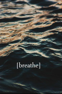 Sometimes you need to let go and [Breathe]