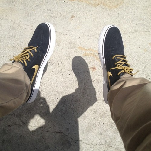 It's such a nice day out #kicksoftheday #kotd #nike #sb #janoski #sneakerhead