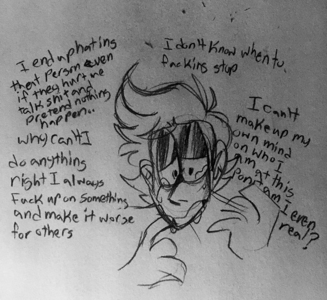 i have really bad anxiety on Tumblr