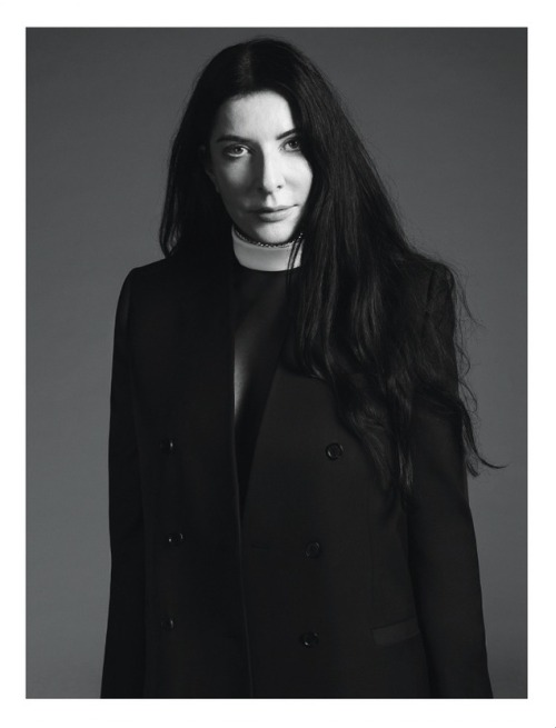 Marina Abramović by Mert Alas and Marcus Piggott for Givenchy Spring/Summer 2013