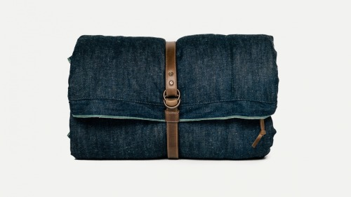 MAKR Selvedge Denim Scout Field Bag
