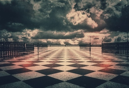gchils:  Chess anyone? http://m.flickr.com/photos/blunotte69/8705134204/lightbox/