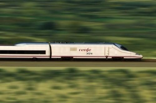 …direct Madrid-Barcelona-Paris high-speed train service is set to begin in April, cutting…current standard service running time to 9 hours from 15…  nice.