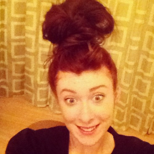 I like big buns and I cannot lie #hair #bun