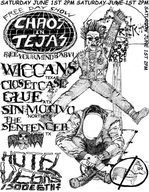 Free day show w/ Wiccans and Closet Case