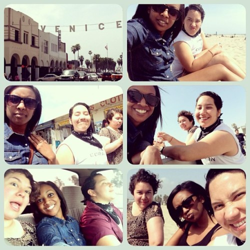 THIS day hahaha #beach #venicebeach #trippin #sunshine #friends #chill #relax #happy #free #la #ca #socal @lani510 @soylulis ☀☀☀🌱