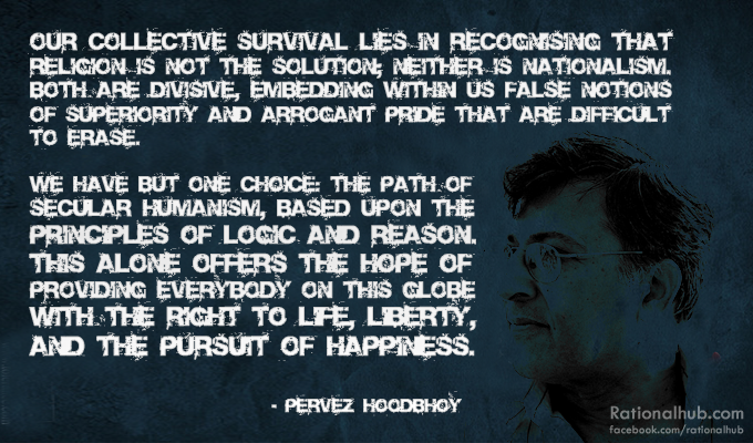 Pervez Hoodbhoy on Secular Humanism.. by ~rationalhub