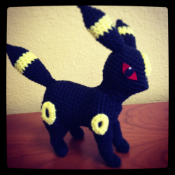 I finished making Umbreon (: