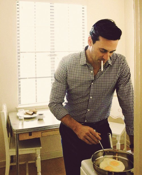 Hamm and eggs.