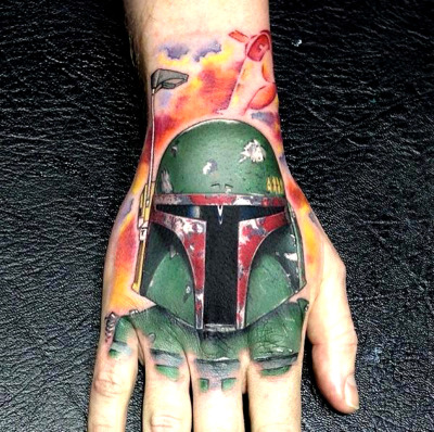 Tattoo done by David Corden.