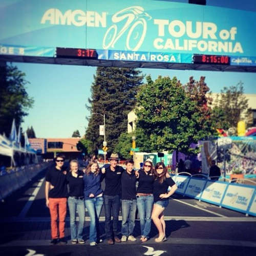 Sang the national anthem for the finale of he Tour of California #tourofcalifornia #murica #singing #songbirdofourgeneration #california #downtown