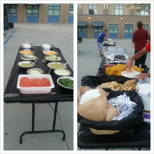 Oh the struggle #allyoucaneat #carneasada #school