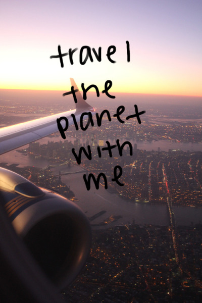 Please! Someone come travelling with me!!