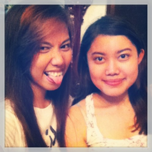 i missed my sexy bebz @junelladelacruz so much😊. i love you ❤ (with my belat face) :))